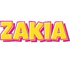 Zakia kaboom logo