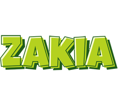 Zakia summer logo