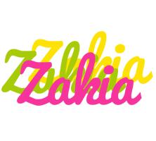 Zakia sweets logo