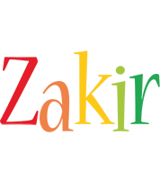 Zakir birthday logo