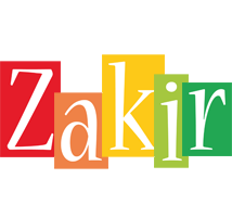 Zakir colors logo