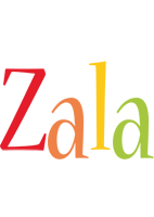 Zala birthday logo