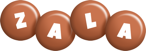 Zala candy-brown logo