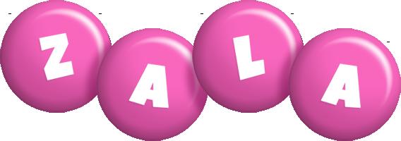 Zala candy-pink logo