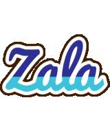 Zala raining logo