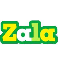 Zala soccer logo