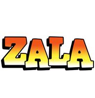 Zala sunset logo