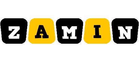 Zamin boots logo