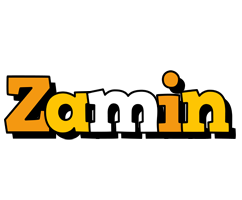 Zamin cartoon logo
