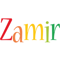 Zamir birthday logo