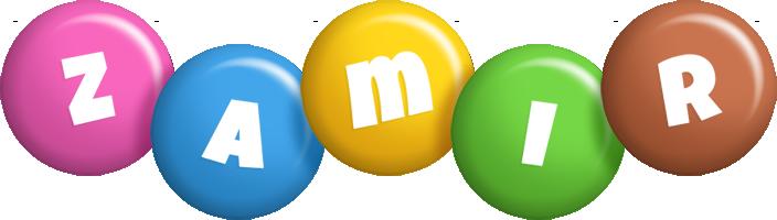 Zamir candy logo