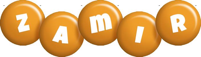 Zamir candy-orange logo
