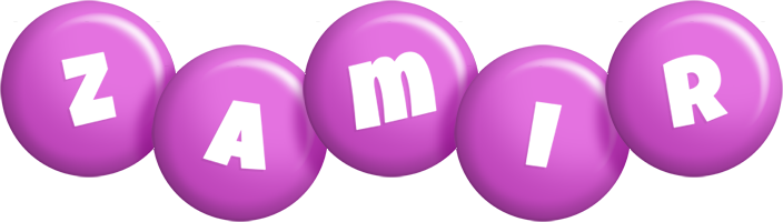 Zamir candy-purple logo
