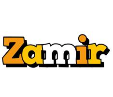 Zamir cartoon logo