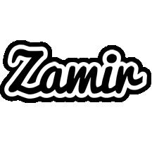 Zamir chess logo