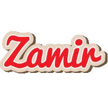Zamir chocolate logo