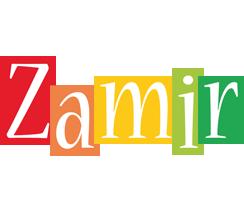 Zamir colors logo