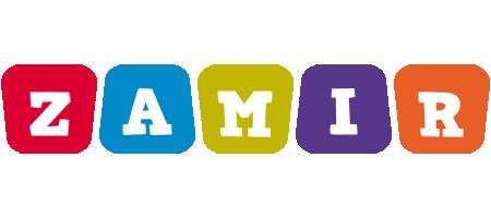 Zamir daycare logo