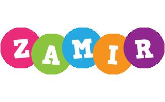 Zamir friends logo
