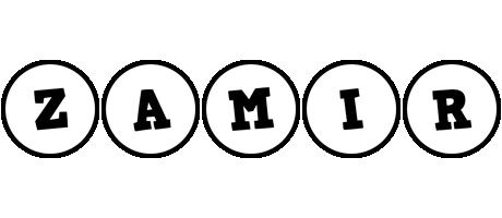 Zamir handy logo