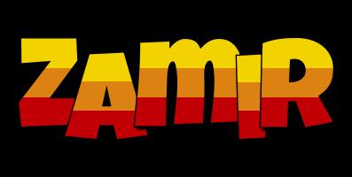 Zamir jungle logo