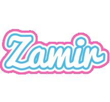 Zamir outdoors logo