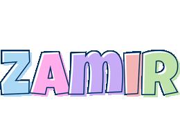 Zamir pastel logo