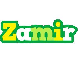 Zamir soccer logo