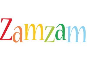 Zamzam birthday logo
