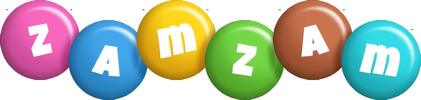 Zamzam candy logo