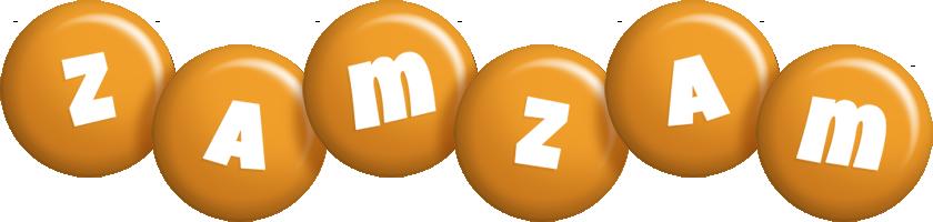 Zamzam candy-orange logo