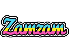 Zamzam circus logo