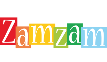 Zamzam colors logo