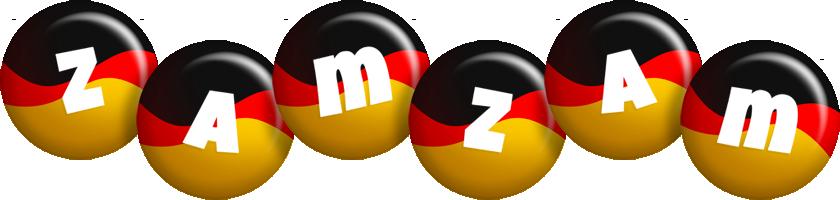 Zamzam german logo