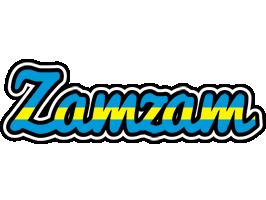 Zamzam sweden logo