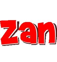 Zan basket logo