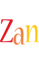 Zan birthday logo