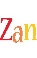 Zan birthday logo