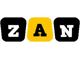 Zan boots logo