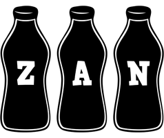 Zan bottle logo