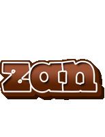 Zan brownie logo