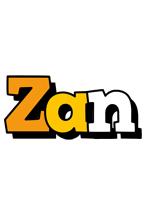 Zan cartoon logo