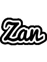 Zan chess logo