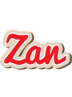 Zan chocolate logo