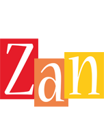 Zan colors logo