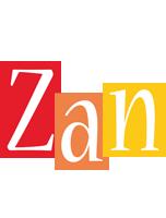 Zan colors logo