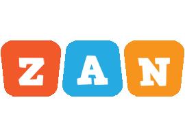 Zan comics logo