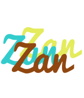 Zan cupcake logo