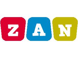 Zan daycare logo