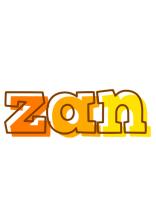 Zan desert logo